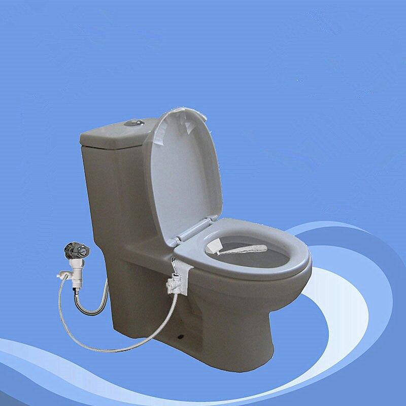 Bidé de ducha con asiento de inodoro inteligente sin electricidad, Solo Frío limpiador simple, boquilla de bidé de inodoro con culo limpio anal, J18133