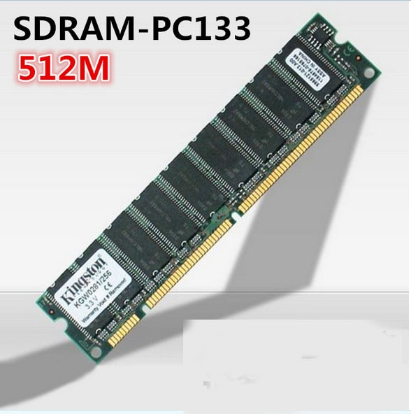512MB PC133 133MHz SDRAM 168pin memoria de escritorio DIMM no-ECC de baja...