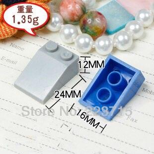 ¡Envío Gratis! 3298 50 piezas * teja de techo 2X3/25 * bloques de iluminación DIY, compatible con el ensamblaje de partículas