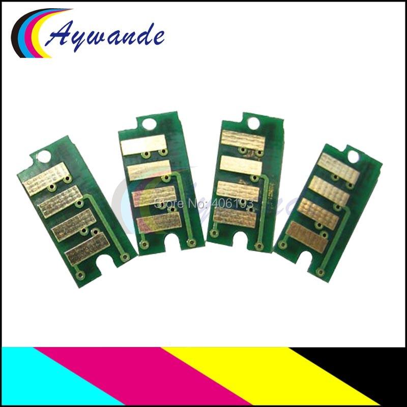 8x совместимый для Dell 2660 C2660 C2660dn C2665dnf C2660 dn C2665 dnf тонер-картридж чип лазерного сброса