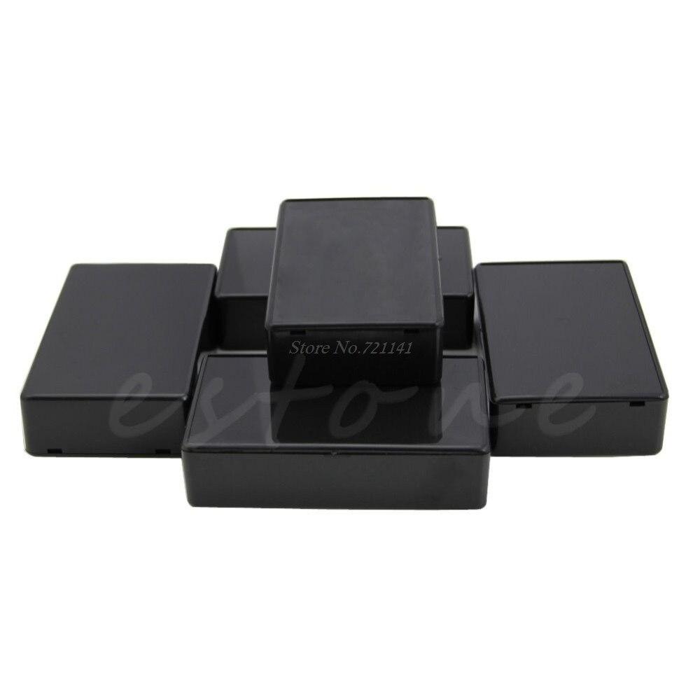 5 Pcs DIY 100x60x25mm Plastic Electronic Project Box Enclosure Instrument Case Dropship