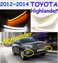 Highlander diurne, 2012 ~ 2014; livraison gratuite! LED, Highlander antibrouillard, 2 ps/ensemble, Reiz, prado, camry, Vigo, Vios, Levin, Highlander