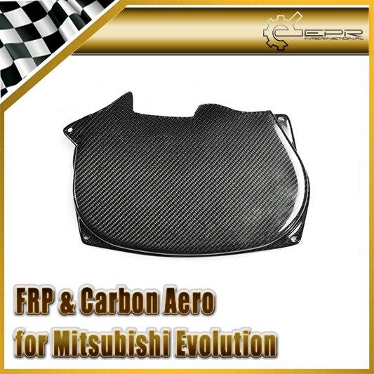 Estilo do carro para mitsubishi evo evolution 4-8 4g63 fibra de carbono cam capa