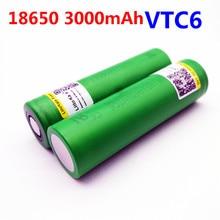 Liitokala VTC6 3.7V 3000mAh rechargeable Li-ion batterie 18650 US18650VTC6 30A jouets outils flashlig