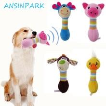 ANSINPARK-jouets en peluche pour chiens   Animaux mignons, chiens, à mâcher, animaux, chien, chat, chiot, jouet toot, canard, chien, mâcher, succion q666