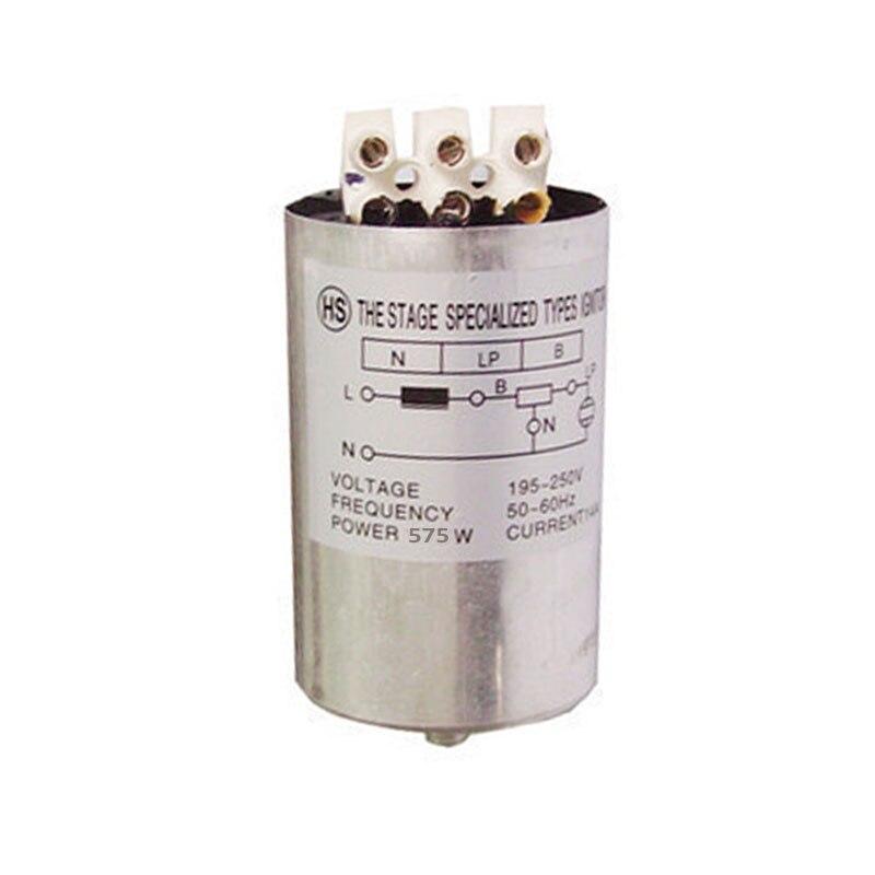 Encendedor de iluminación de 575w para iluminación con cabeza giratoria 575w, 1200w, 2500W, 575w, encendedor de haz de luces móvil 575w