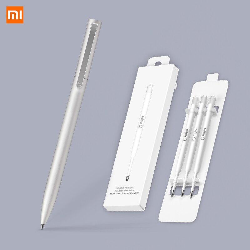 Xiaomi Mijia Pen PREMEC Smooth Metal Switzerland Refill Alloy Handles MiKuni Japan Black Ink 0.5mm Signature Signing Xiaomi