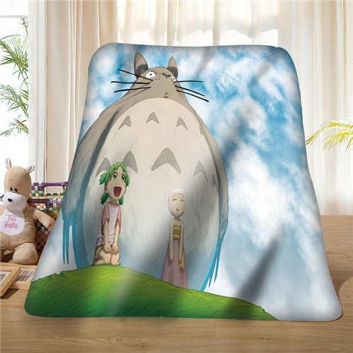 Custom ghibli_parade _ _ by_tenaga (1) שמיכת צמר רך DIY שלך תמונה קישוט חדר שינה ספה רב גודל #928-01-12