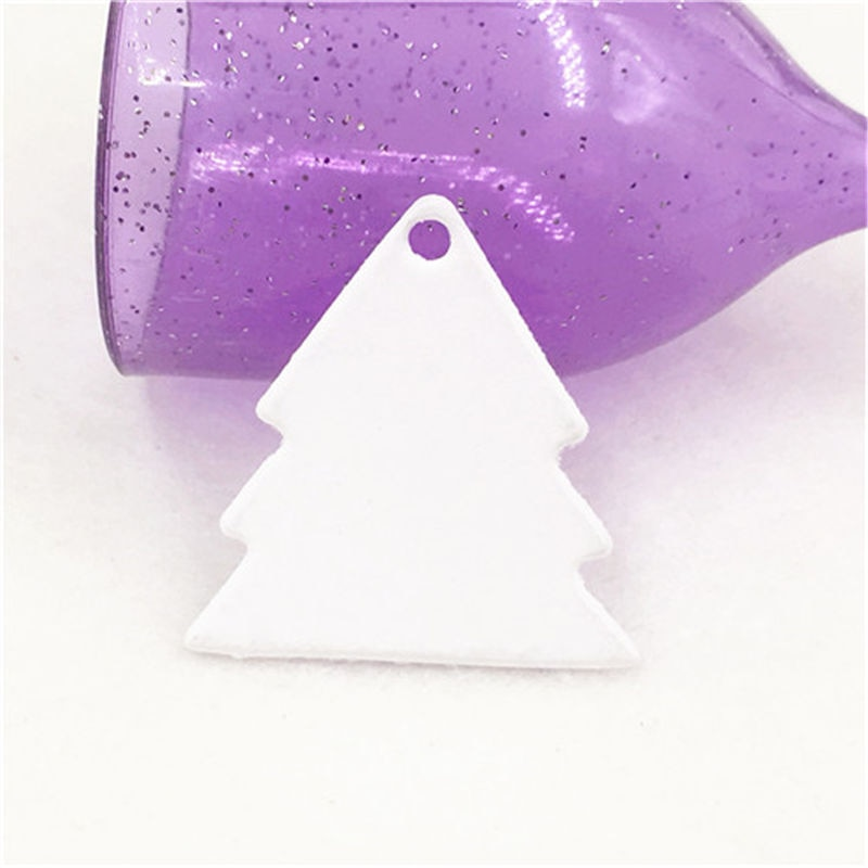 500Pcs/Lot Lovely Tree Shape Round Paper Hang Tags For Great Event Holiday Gifts Bags Supplies Packi