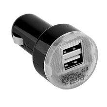 Wopow Dual USB Auto Ladegerät Ausgang 2,1 EINE Schnelle Lade Handy Reise Adapter Zigarre Leichter DC 12-24V Auto Telefon Ladegerät