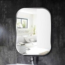 A1 bezramowe kwadratowe łazienka lustro ścienne toaleta toaletka umywalka lustro sypialnia ściany wiszące szklane lustro wx8230936