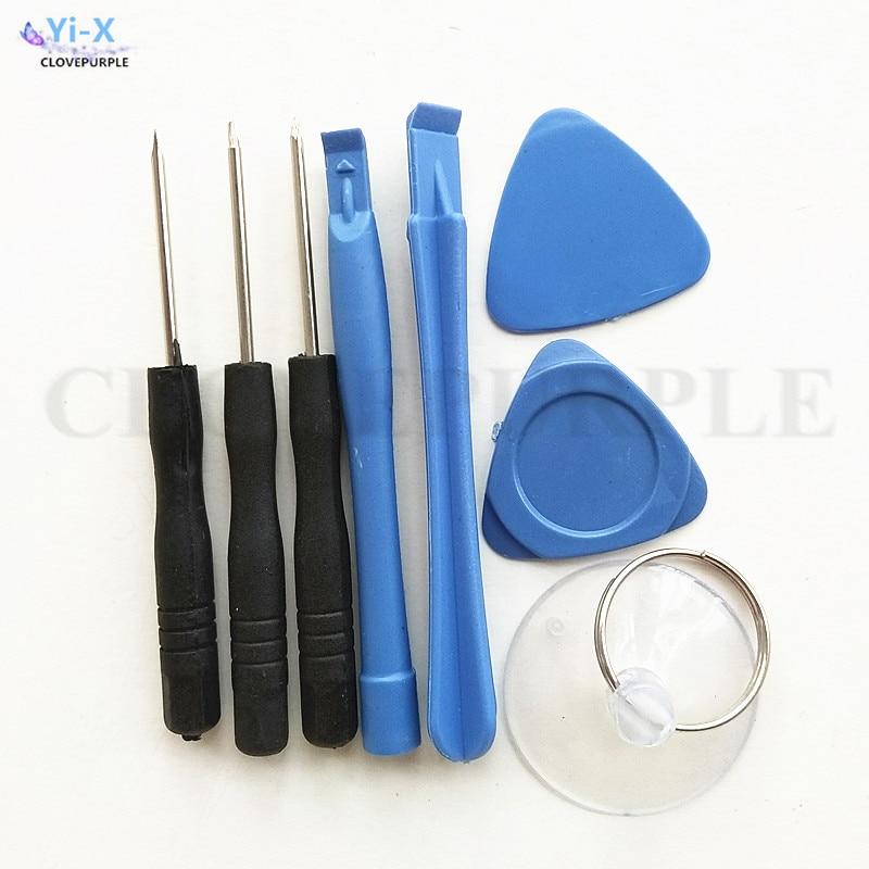50 teile/los 8 in 1 Handy Screen Eröffnung Pry Reparatur Tool Kit Schraubendreher Werkzeug Sets für Iphone für Samsung für Amdriod