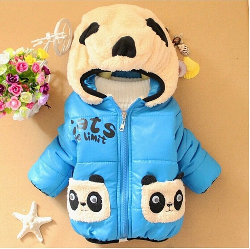 winter clothing children s clothing boys and girls 2 pieces set children s suits keep warm jackets and pants kids clothes Boys Warm Jackets Children Clothing Girls Cartoon Bear Cotton Outerwear Tops Baby boys Hooded Coat Winter Kids Jacket Clothes