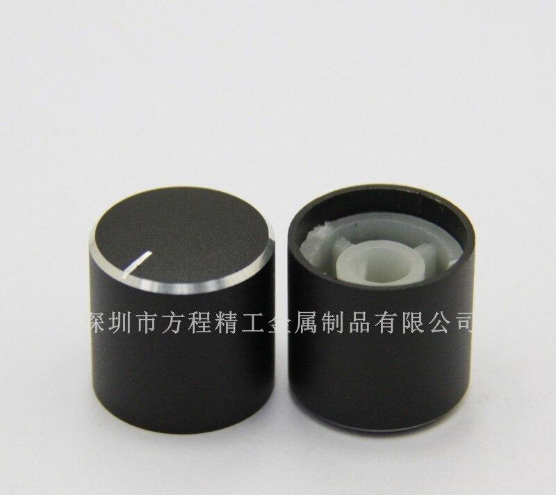 Perilla de aluminio plástico de 10 Uds. 19*17,5*6mm, perilla de chorro de superficie curvada, perilla exprimidora, tapa de perilla de horno