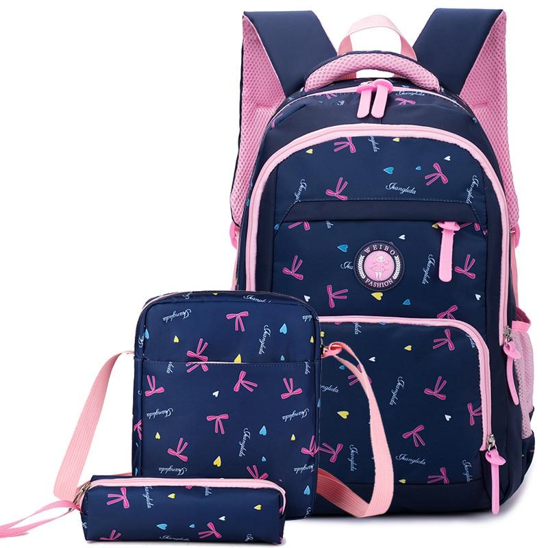 2018 водонепроницаемые школьные рюкзаки для девочек, детские рюкзаки, школьные сумки, рюкзаки для детей с принтом, школьные сумки для детей