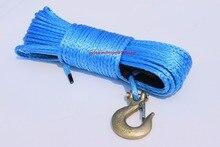 Corde de treuil synthétique pour ATV 6mm * 30m   Câble de Plasma, câble de treuil en Kevlar, corde Durable en UHMWPE pour ATV UTV moto de véhicule