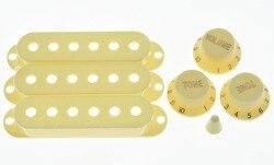 Белые ручки KAISH для пожилых людей, чехлы для пикапа ST и 5-позиционный переключатель, наконечник
