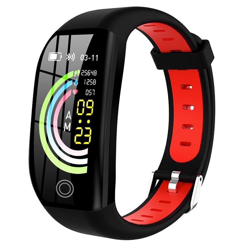 Pulsera inteligente F21, pulsera inteligente deportiva con control del ritmo cardíaco, Monitor de actividad y Contador de pasos para Android e IOS