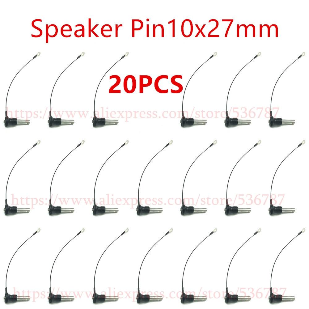 20 piezas etapa de Audio profesional 10x27mm Y1027 Line Array accesorios de altavoces Pin para DJ Subwoofer consola mezcladora portátil