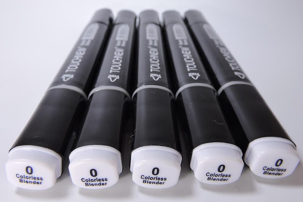 0# Colorless Blender Dual Tips Marker sketch art Supplies mark pen Alcohol soluble pen cartoon graffiti markers pens