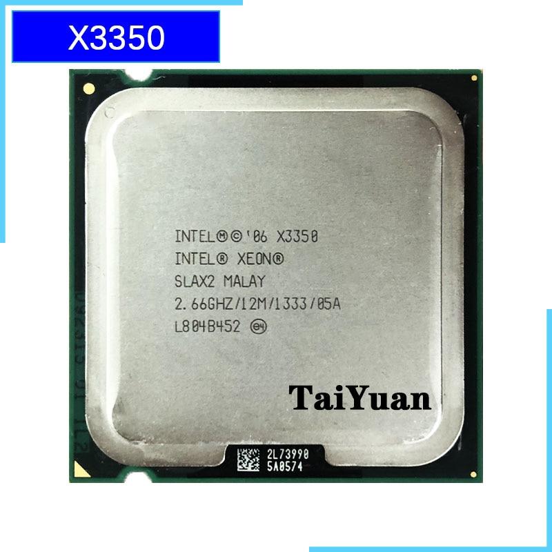 Четырехъядерный процессор Intel Xeon X3350 2,6 ГГц 12 м 95 Вт 1333 LGA 775
