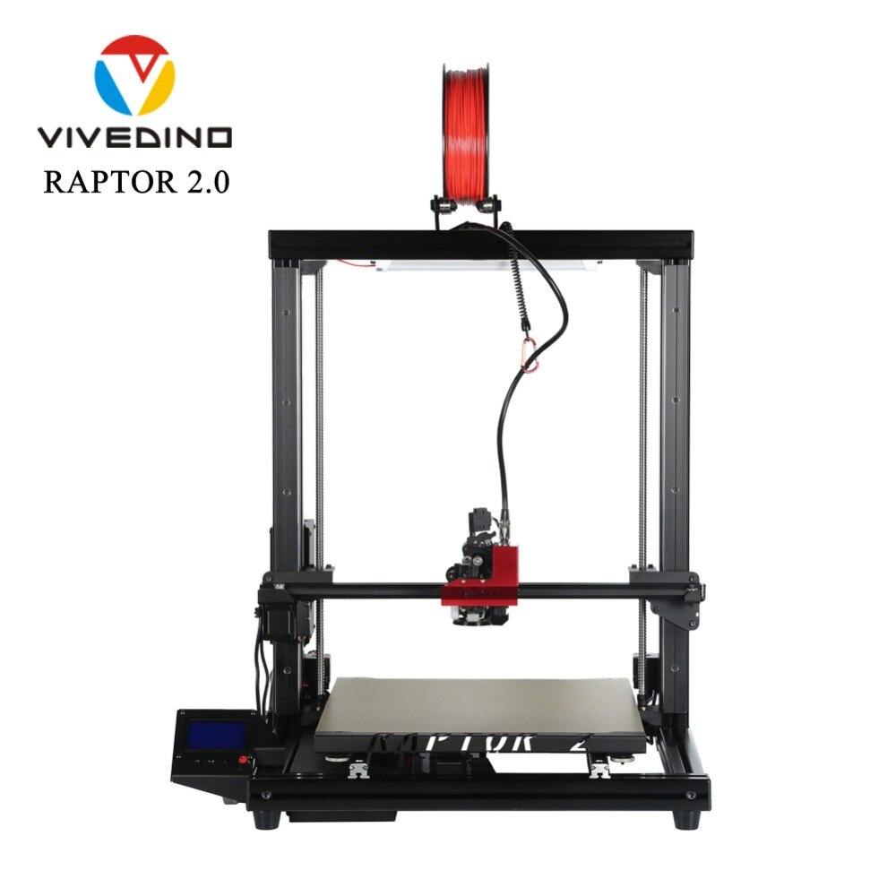 Loveedino Raptor 2-طابعة ثلاثية الأبعاد ، حجم طباعة 400 × 400 × 500 مللي متر