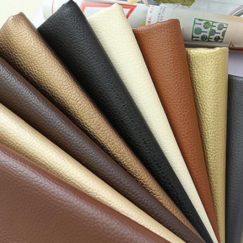 Buulqo Nice PU synthetic leather Fabric , Faux Leather Fabric for Sewing, PU artificial leather for