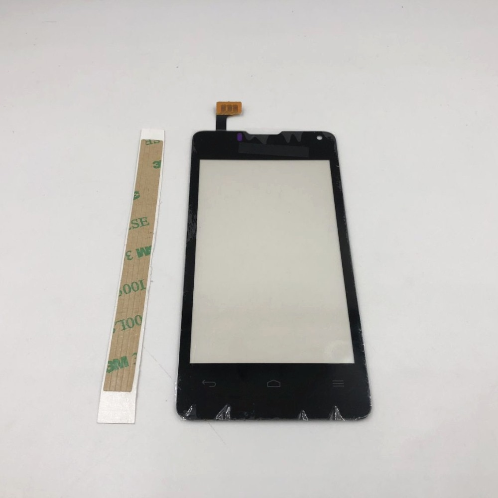 10 unids/lote pantalla táctil de vidrio exterior para Huawei Ascend Y300 U8833 T8833 Y300-0100 Panel táctil digitalizador lente parte Sensor