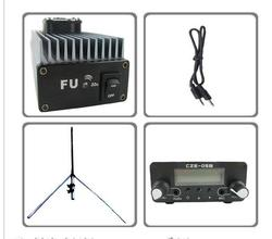 Fmuser FU-30A 30w profissional fm amplificador transmissor 85 kit 110mhz wth gp antena kit