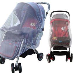 Nova marca 2018 pudcoco mais recentes chegadas whtie carrinho de criança carrinho mosquito inseto net malha buggy capa para o bebê infantil