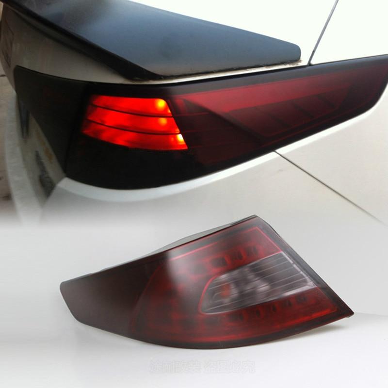 Car Headlight Taillight Fog Lamp Tint Film Sticker For Honda Civic Accord Fit Crv Hrv Jazz City CR-Z Element Insight MDX S2000