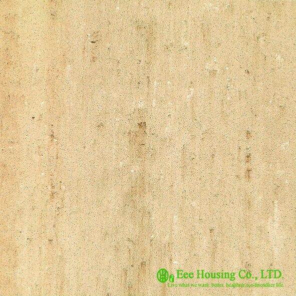 Çift yükleme cilalı porselen zemin Karoları Konut, 60 cm * 60 cm Yer Karoları/DUVAR KAROLARI, Iyi aşınma direnci