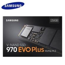 Samsung 970 EVO Plus SSD NVMe M.2 2280 SSD 250 GB 500 GB 1 TB M.2 Interne Solid State Drive TLC SSD PCIe 3,0x4, NVMe 1,3 laptop