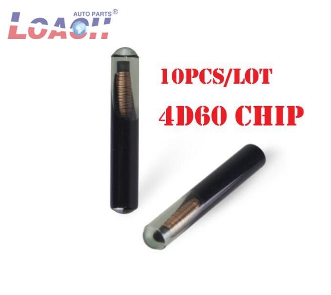 10 unids/lote ID60 4D Chips de Chip transpondedor para Ford Connect, Fiesta Mazda Jaguar