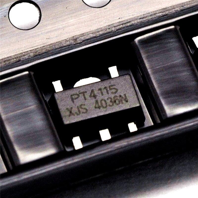 500 pces PT4115-89E led driver ic conversor buck led unidade de corrente constante sot89 pt4115