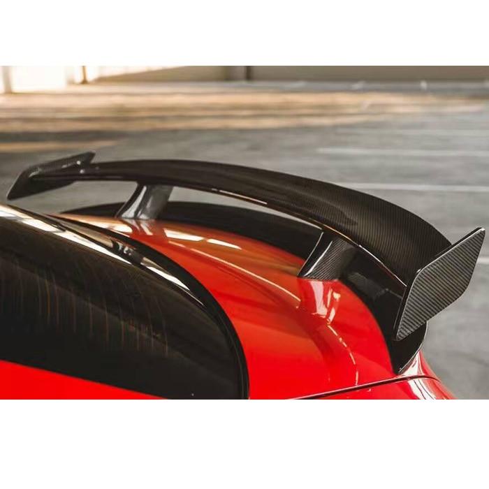 Queue daile en fiber de carbone   Adapté pour mercedes-benz CLA200 220 250 A45 répulzport spoiler