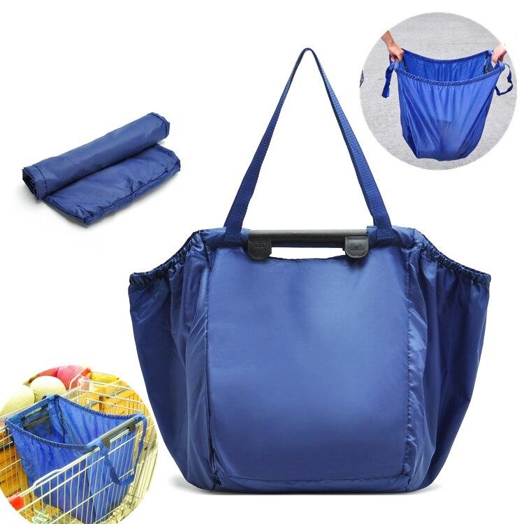 Saco feito sob encomenda Gigante Grab Bag Clipe Para O Saco de Carrinho De Compras de Supermercado