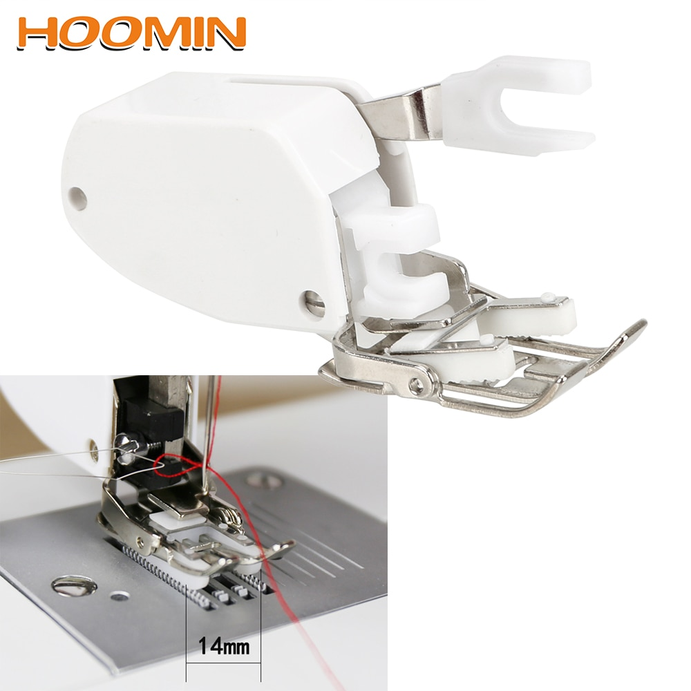 HOOMIN Walking Even Feed Quilting Presser Foot Feet For Low Shank Sewing Machine For Apparel Sewing Fabric