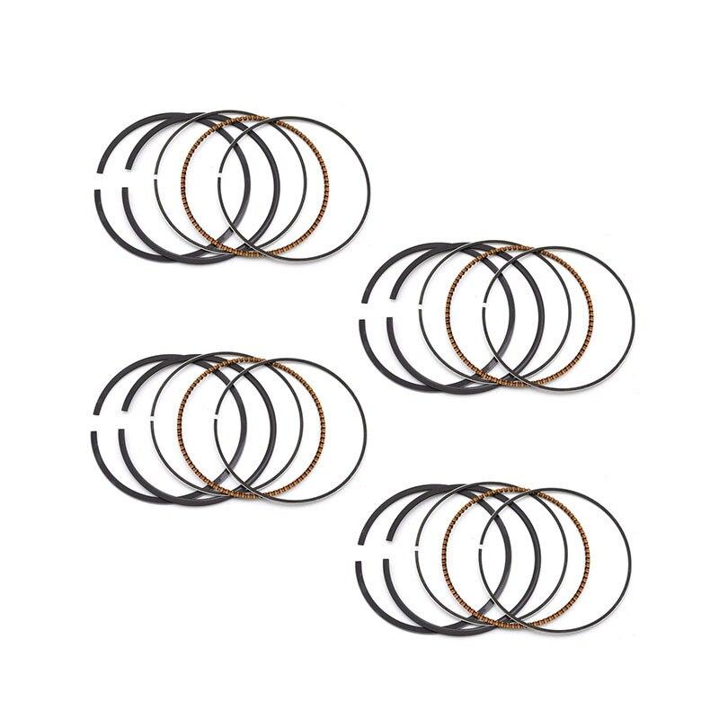 OVERBORE + 25 55.25 milímetros Anéis de Pistão para HONDA NC21 NC23 NC27 NC29 NC30 NC35 NC31 NC39 ANEL 4PC