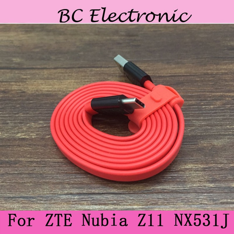 Cable USB-C cargador de carga rápida USB 3,0 tipo C Original para cargador USB ZTE nubia z11 NX531J