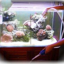 1.8m Aquarium Cleaning Manual Siphon Gravel Suction Pipe Filter Fish Tank Vacuum Water Change Pump Tools Aquarium accessories