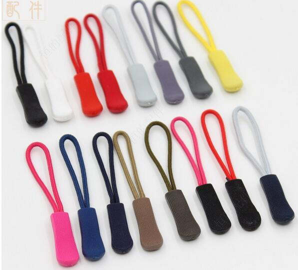 20 шт. пулер для литья под давлением на молнии с шнурком, сменный шнурок на молнии, слайдер, куртка, рюкзак