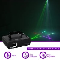 sharelife 500mw rgb animation pattern dmx laser projector light home gig party show professional stage effect dj lighting 500rgb