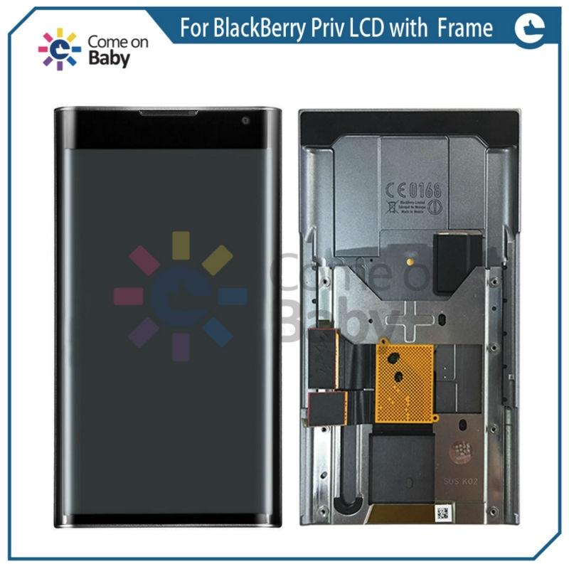 Para priv display lcd tela de toque digitador assembléia com quadro peças reposição