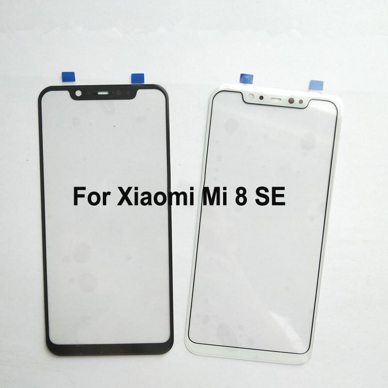 Para Xiaomi mi 8 SE 8SE mi 8SE Panel táctil digitalizador de pantalla táctil de cristal de pantalla táctil del Panel táctil sin Flex