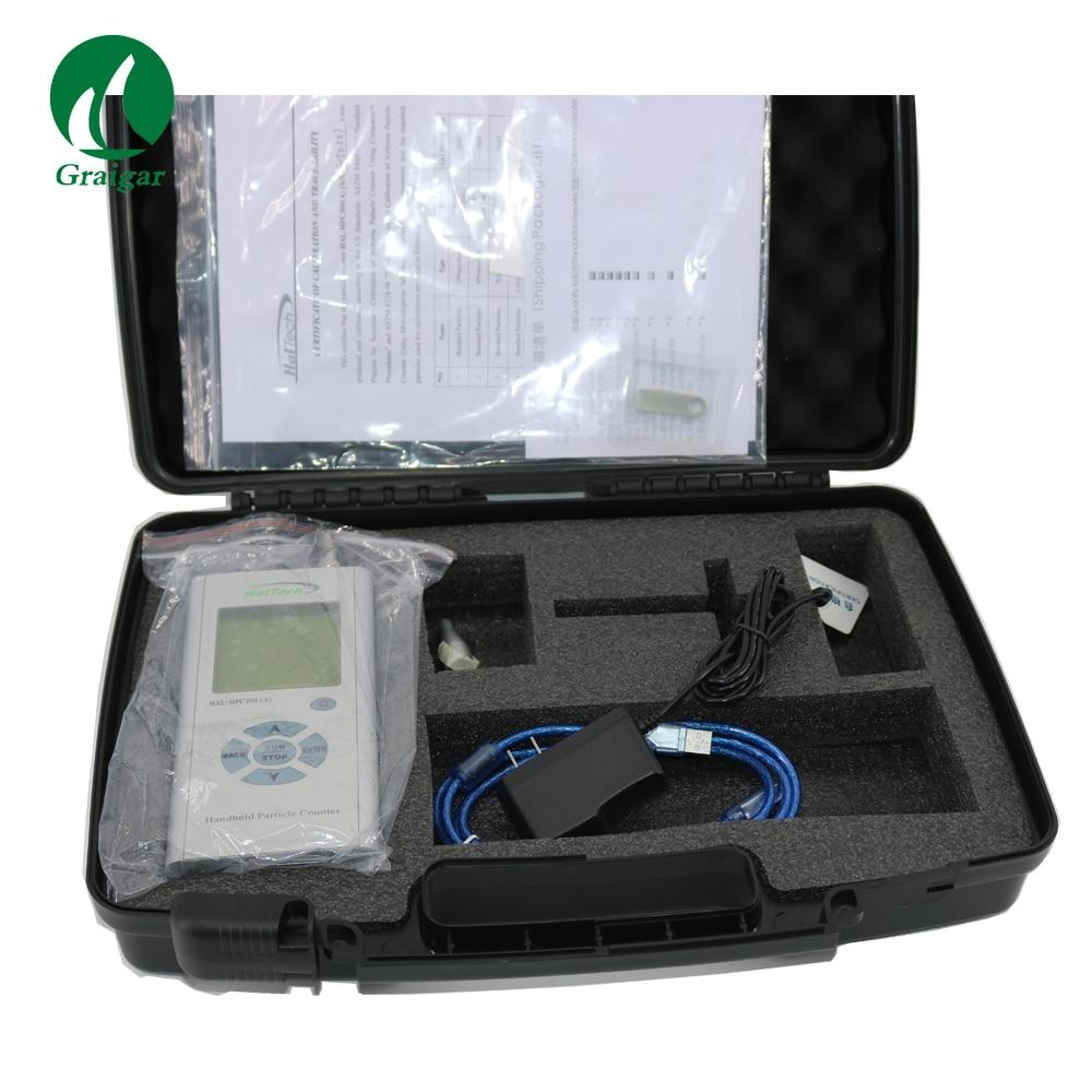 Contador de Partículas Analisador de Poeira Configurável para Todos os Três Canais de Sze Hal-hpc300 a Ótico Original Handheld