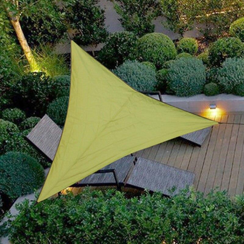 Toldo de toldo impermeable de 3M para exteriores, carpa triangular, toldo de jardín, Picnic en la playa, Campamento, lona de cortina, toldo de viaje, sombrilla, Gazebo