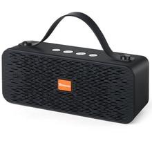 Haut-parleur Bluetooth Portable TOPROAD colonne stéréo sans fil caisson de basses enceintes HIFI Support extérieur TF carte FM Radio USB AUX