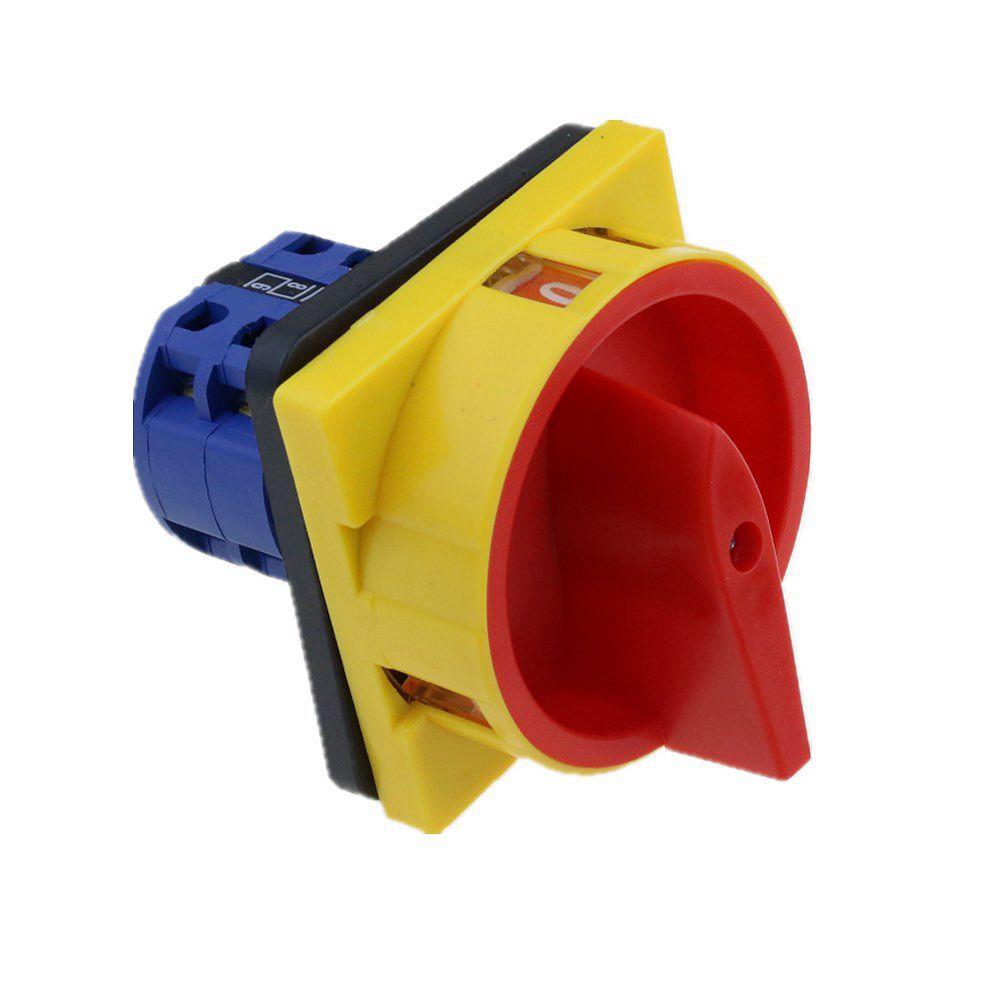 LW26-20/2GS interruptor de cámara candado selector interruptor de cambio de interruptor giratorio