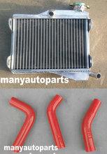 GPI-radiateur en aluminium haut de gamme   Avec tuyau rouge, pour YAMAHA RD250 RD 250 RD350 LC 4L0 4L1